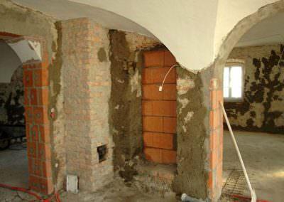 Sanierung eines alten Herrenhauses