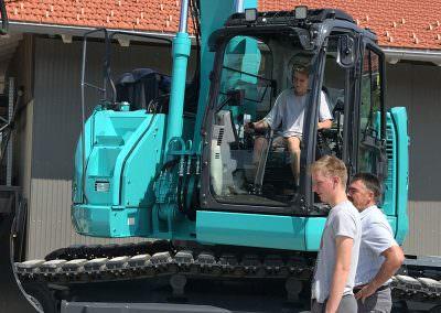 Neuer Bagger Wimmer Baugeschäft GmbH