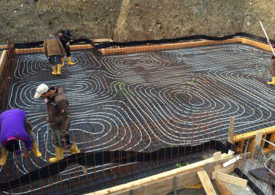 Fußbodenheizung für geschliffenen BetonbodenFußbodenheizung für geschliffenen Betonboden